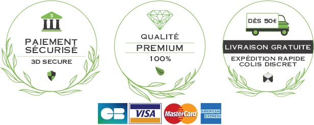 Qualité Premium - Paiement sécurisé - Livraison rapide et gratuite avec minimum achat MyBud Shop France